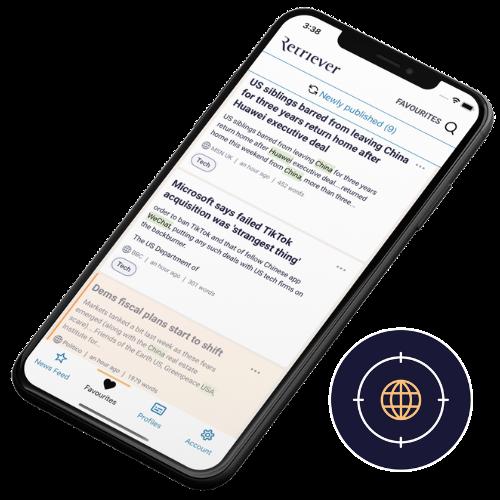 Upplev Retrievers mobila app